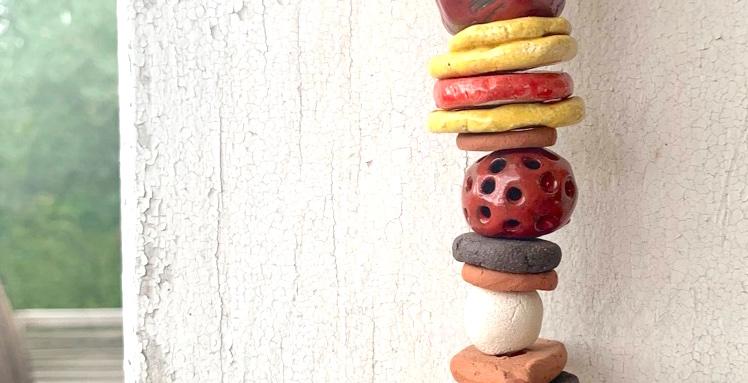 décoration intérieure collier céramique maison