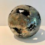 sphère raku pièce unique claymee