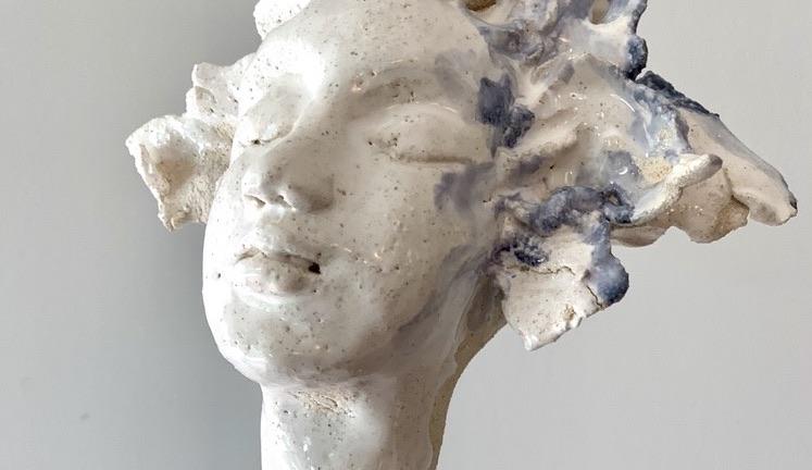statue céramique claymee